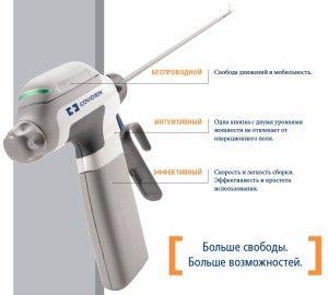 Первый в мире беспроводной ультразвуковой диссектор