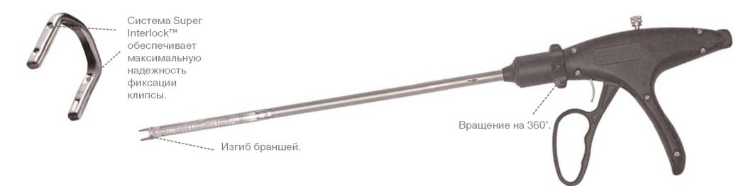 Многоразовый эндоскопический клипаппликатор ENDO CLIP™ MultApplier™
